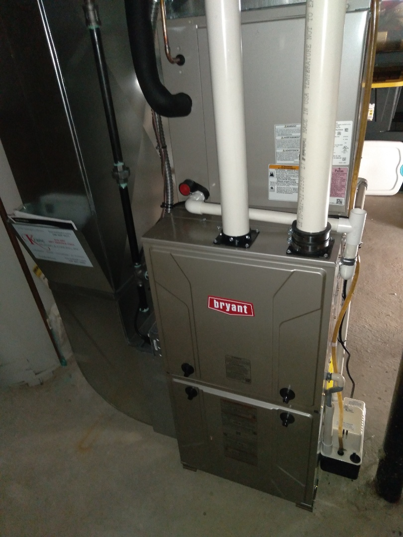 White Lake charter Township, MI - Installed in 80,000 BTU Bryant high efficient furnace