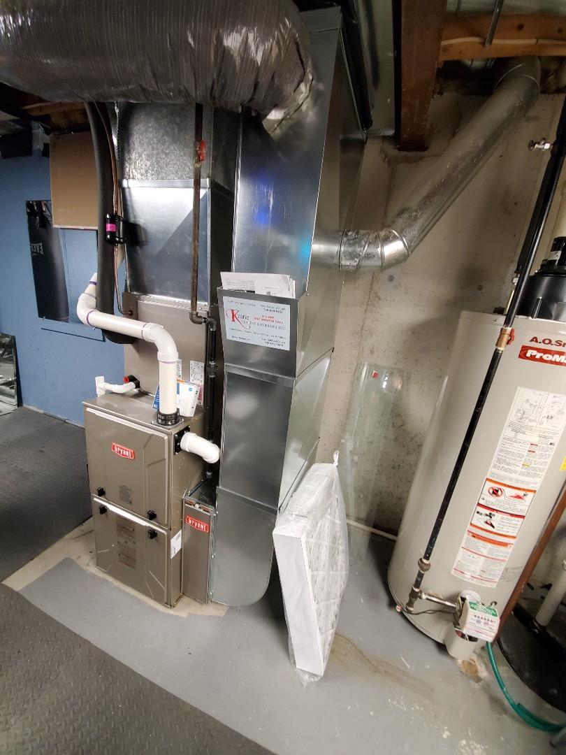 Install a Bryant furnace