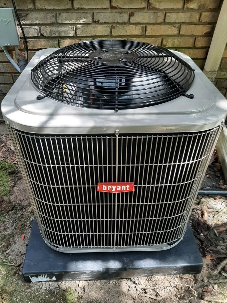 White Lake charter Township, MI - Installed a two and a half ton Bryant air conditioner