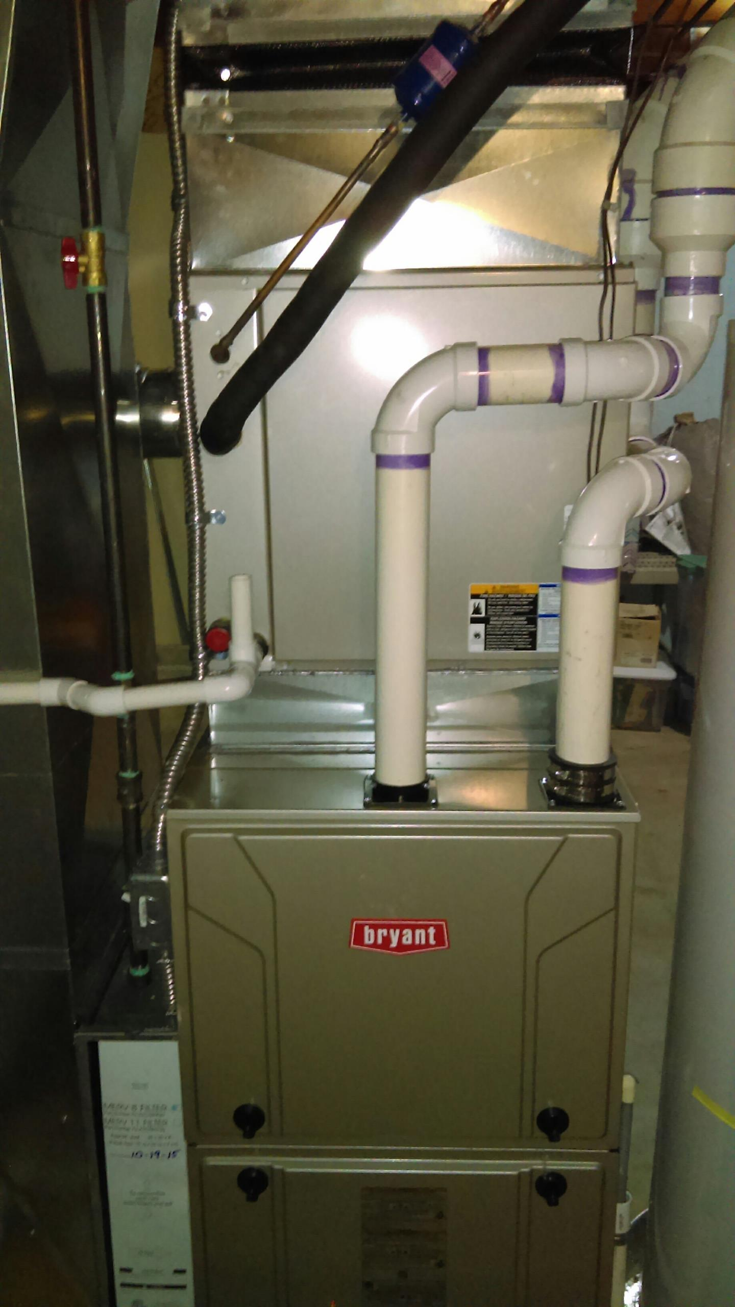 Lyon charter Township, MI - Install a Bryant 96% efficient furnace