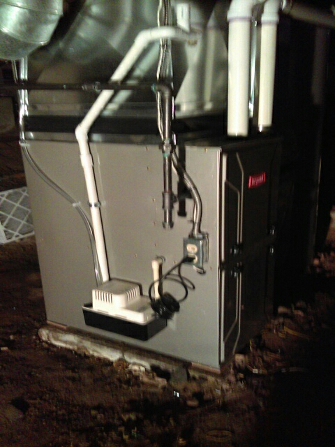 Keego Harbor, MI - Installed a 96% efficient Bryant furnace