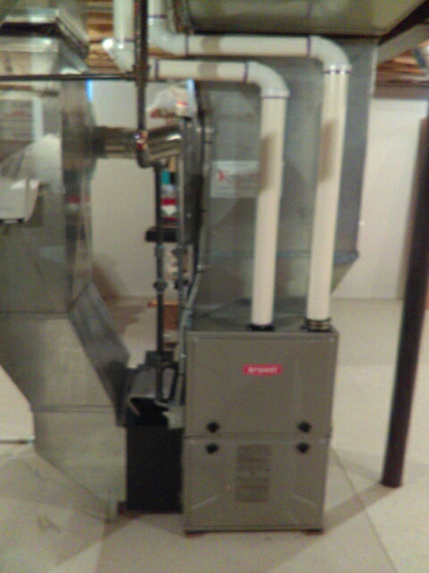 Troy, MI - Installed a 96% efficient Bryant furnace