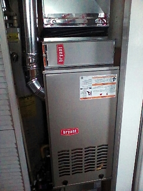 Holly, MI - Furnace and A/C install