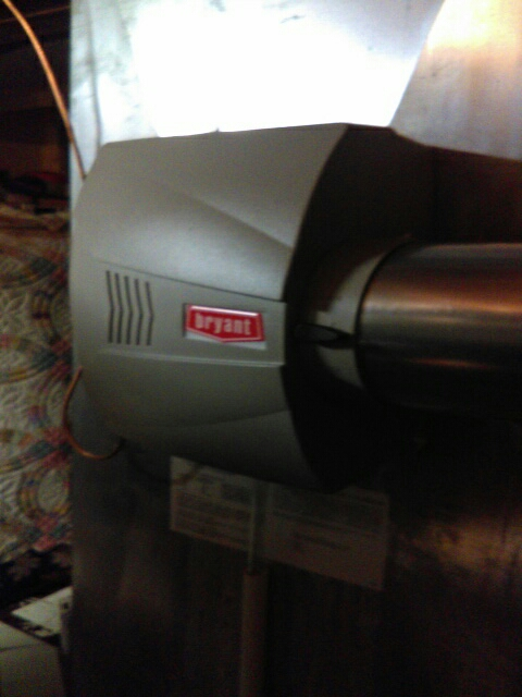 Independence charter Township, MI - Installed a Bryant humidifier