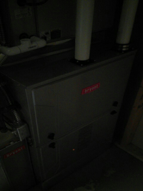 Oakland charter Township, MI - Installed a 96% efficient Bryant furnace