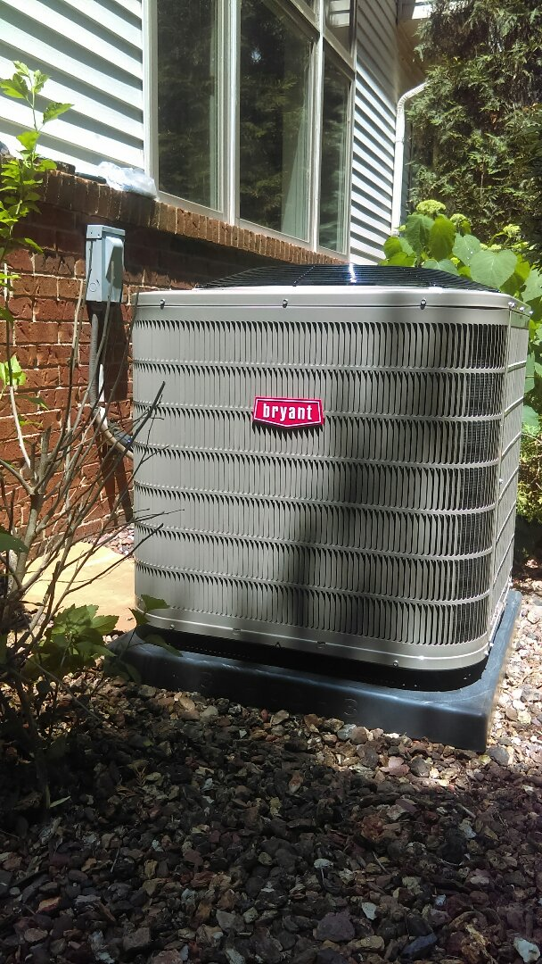 Fenton, MI - Installed a new Bryant air conditioning system