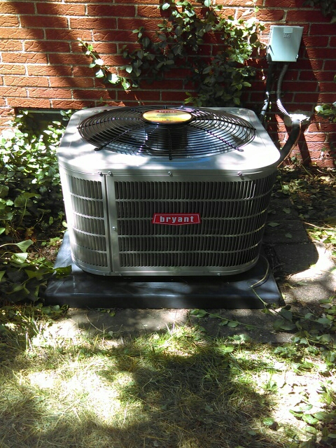 Farmington, MI - Installed a 2-ton Bryant air conditioner