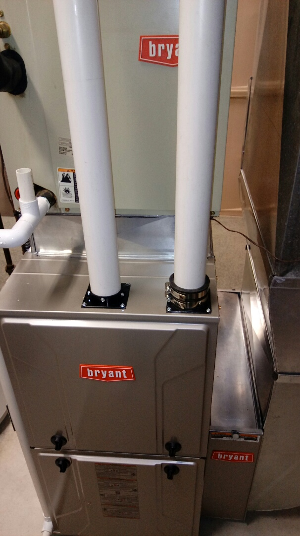 Milford Charter Township, MI - Installed a new Bryant 96% efficient furnace