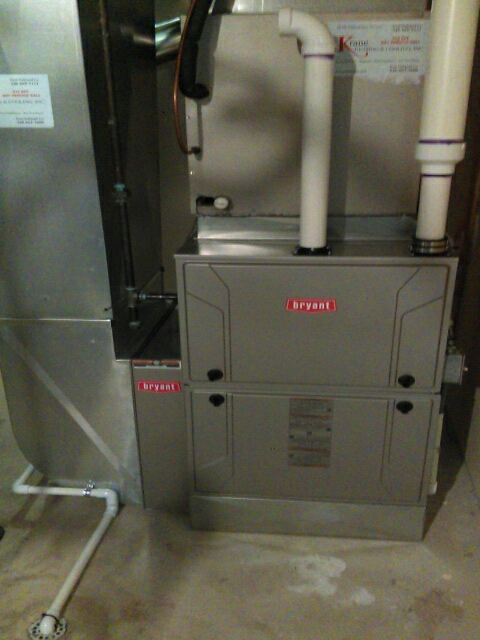 Rochester Hills, MI - Installed a 96% efficient Bryant furnace