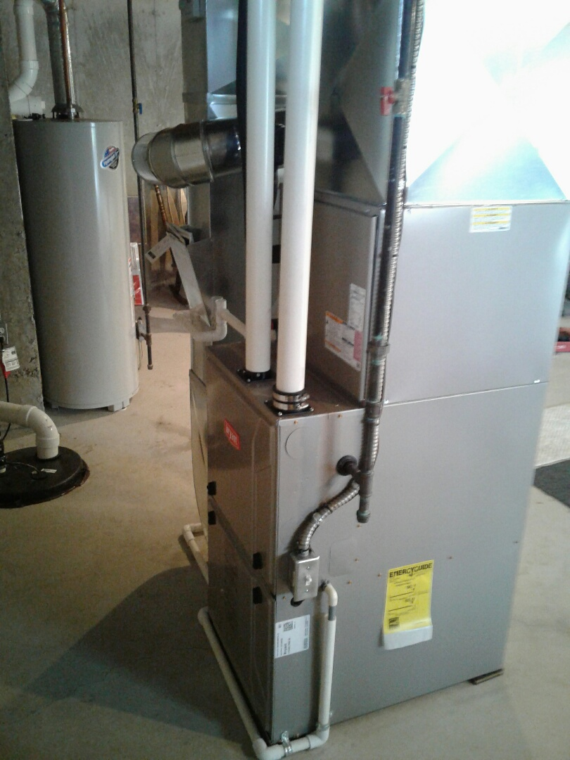 Orion charter Township, MI - Installing a New Bryant Furnace and Central Air Conditioning System
