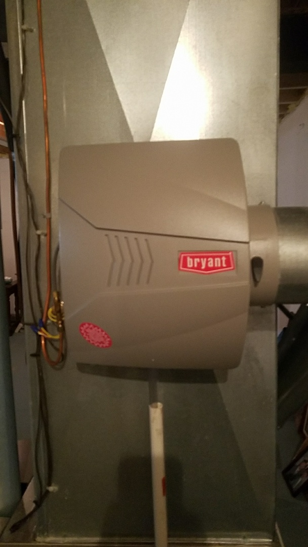 Commerce Charter Township, MI - Humidifier replacement