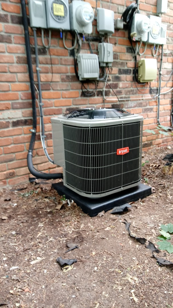 Rochester, MI - Installed a Bryant air conditioning system
