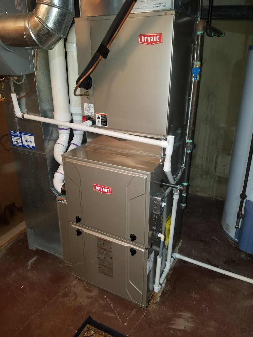 Beverly Hills, MI - Furnace replacement on Saturday