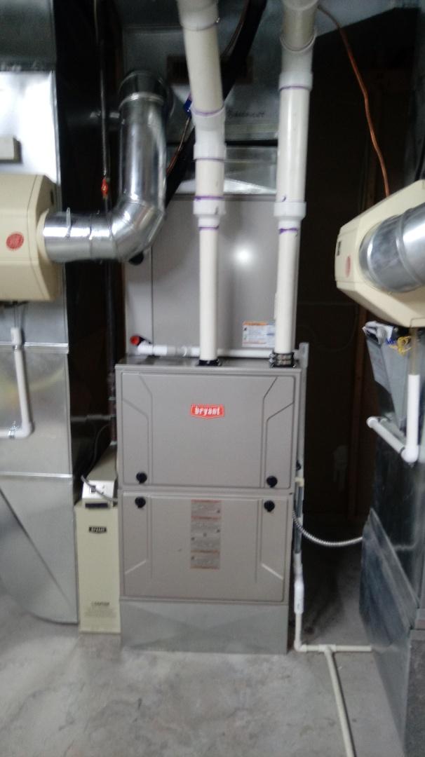 Bloomfield Hills, MI - Installed a Bryant 96% efficient furnace
