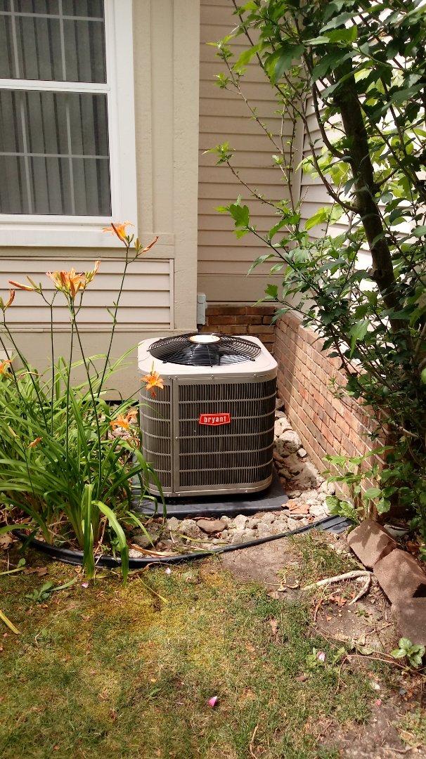 Novi, MI - Install a Bryant air conditioning system