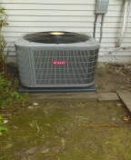 Commerce Charter Township, MI - Installed a 3-ton Bryant air conditioner
