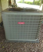 Installed a 96% efficient Bryant furnace and a 5-ton Bryant air conditioner
