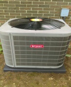 Installed a 3 & a half ton Bryant air conditioner