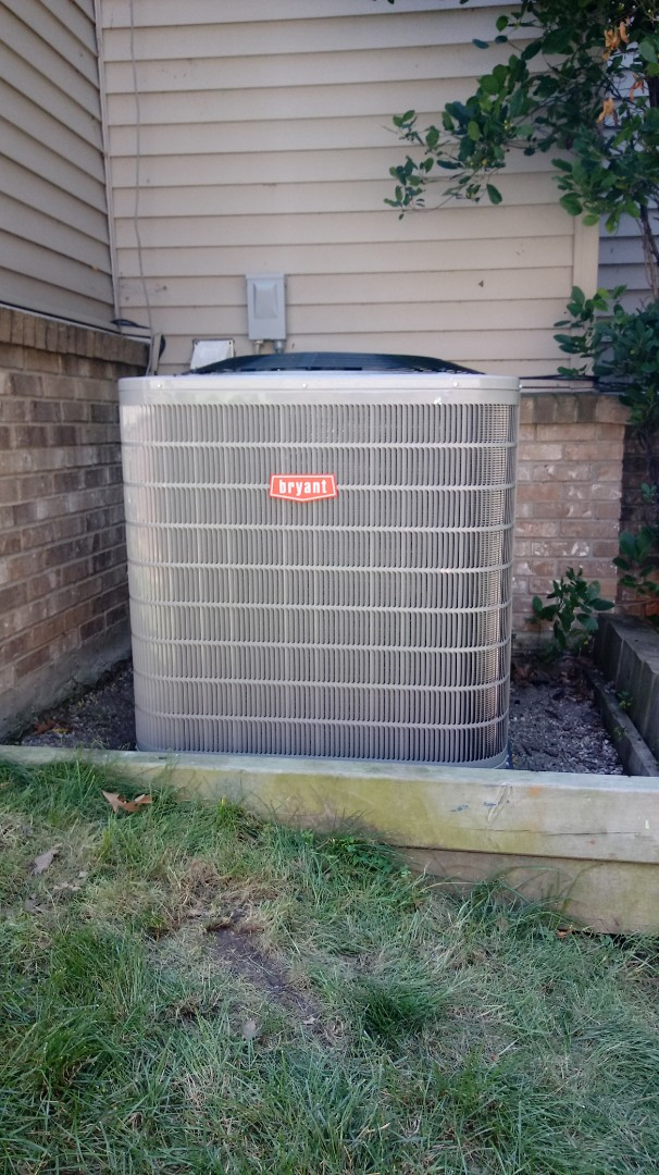 Install a Bryant air conditioning system