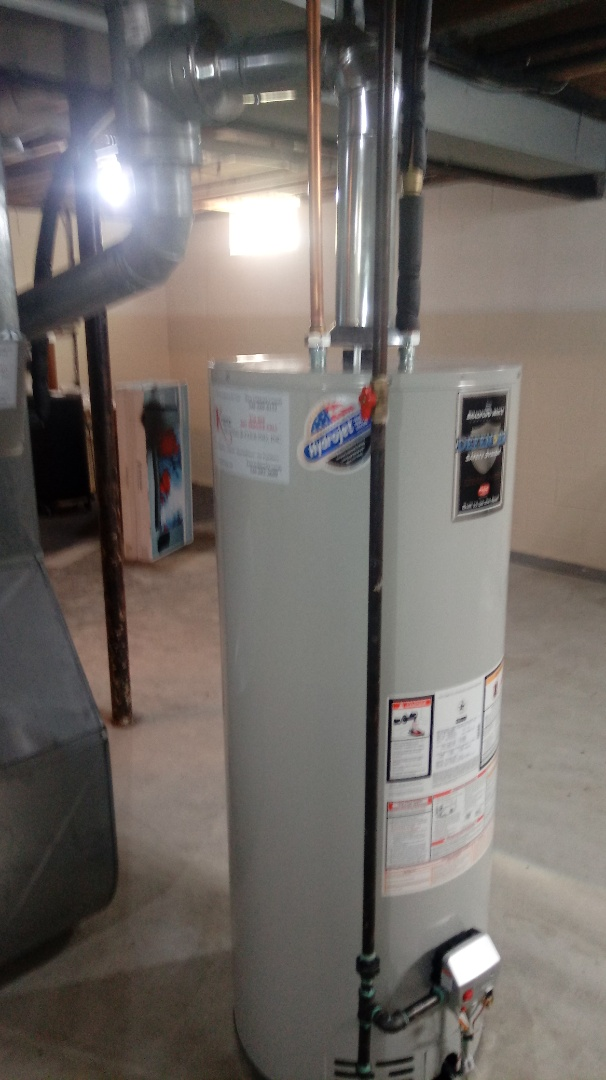 Waterford Township, MI - Installed a Bradford White Water Heater
