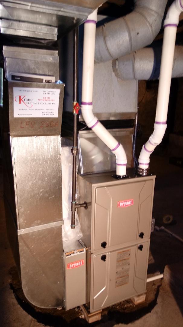 Pontiac, MI - Installed a Bryant 96% efficient furnace