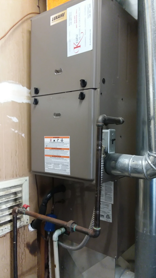 Real Time Service Area For Krane Heating And Cooling