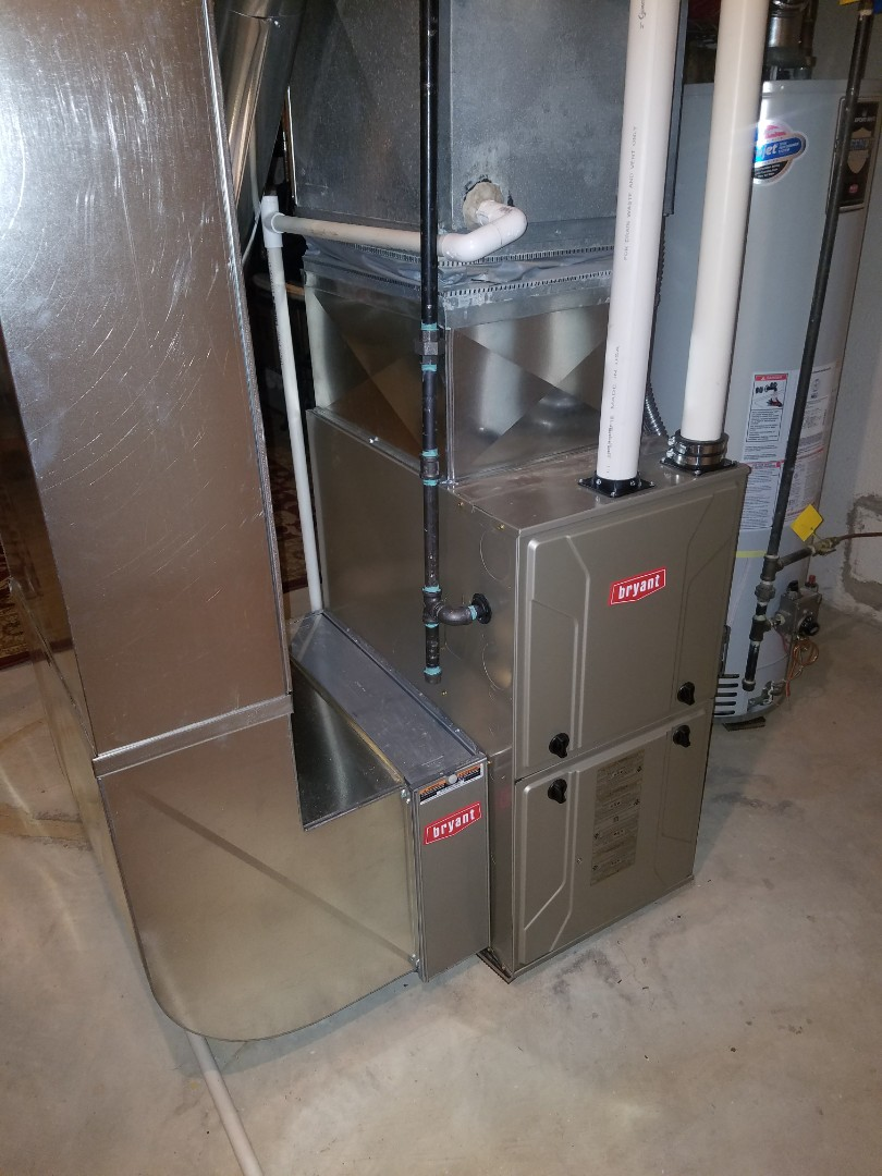 Clarkston, MI - Installed 96% Bryant furnace