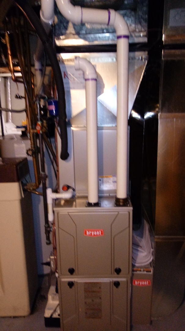 Waterford Township, MI - Installed a Bryant 96% efficient furnace and air conditioning system