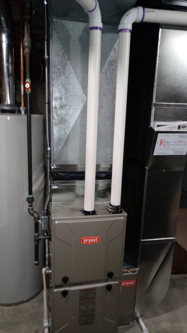 Waterford, MI - Installed a Bryant 96% efficient furnace