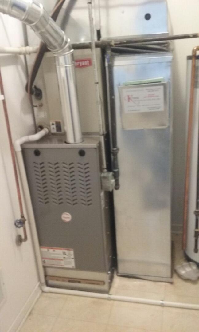 Pontiac, MI - Installed a 80% Payne furnace
