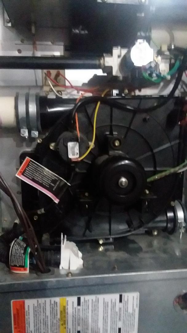 Novi, MI - Repairing furnace