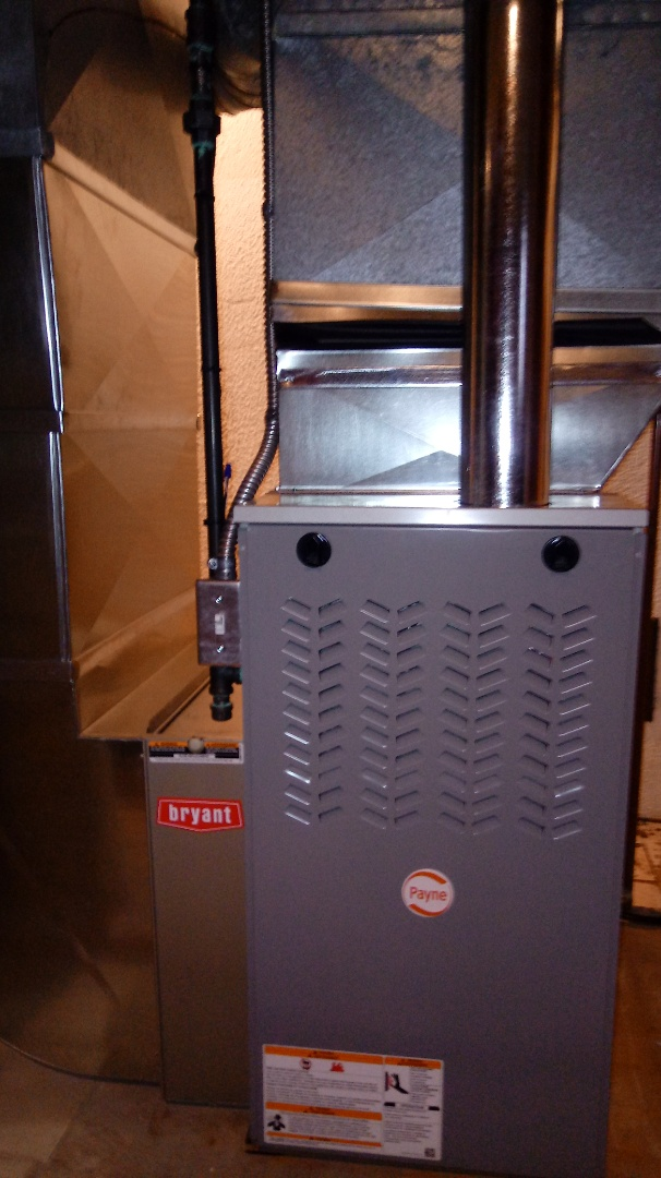 Bloomfield Hills, MI - Installed a Payne 80% efficient furnace