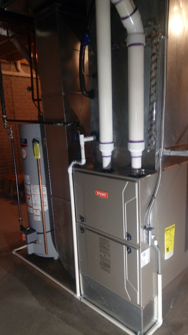 Commerce Charter Township, MI - Installed a Bryant 96% efficient furnace