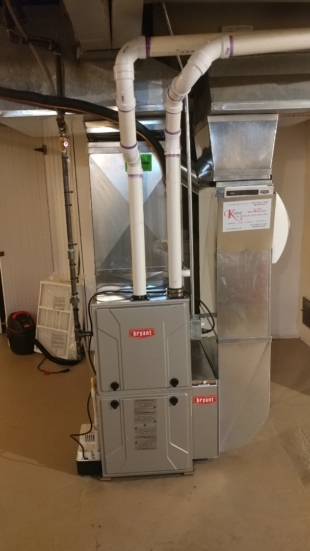 Franklin, MI - Installed a Bryant 96% efficient furnace