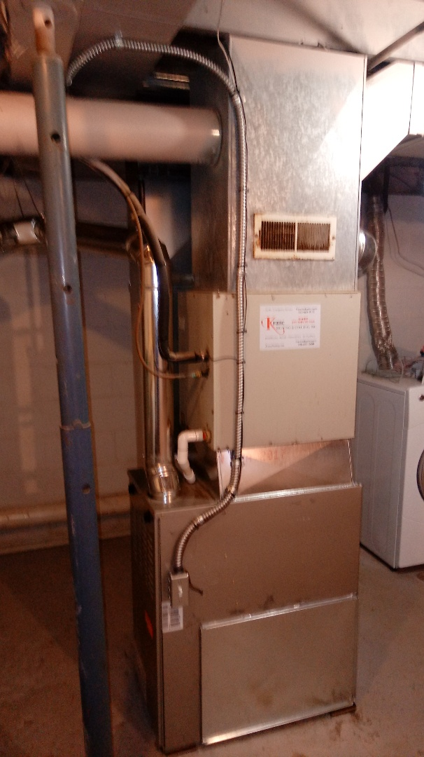 West Bloomfield Township, MI - Installed a Bryant 80% efficient furnace