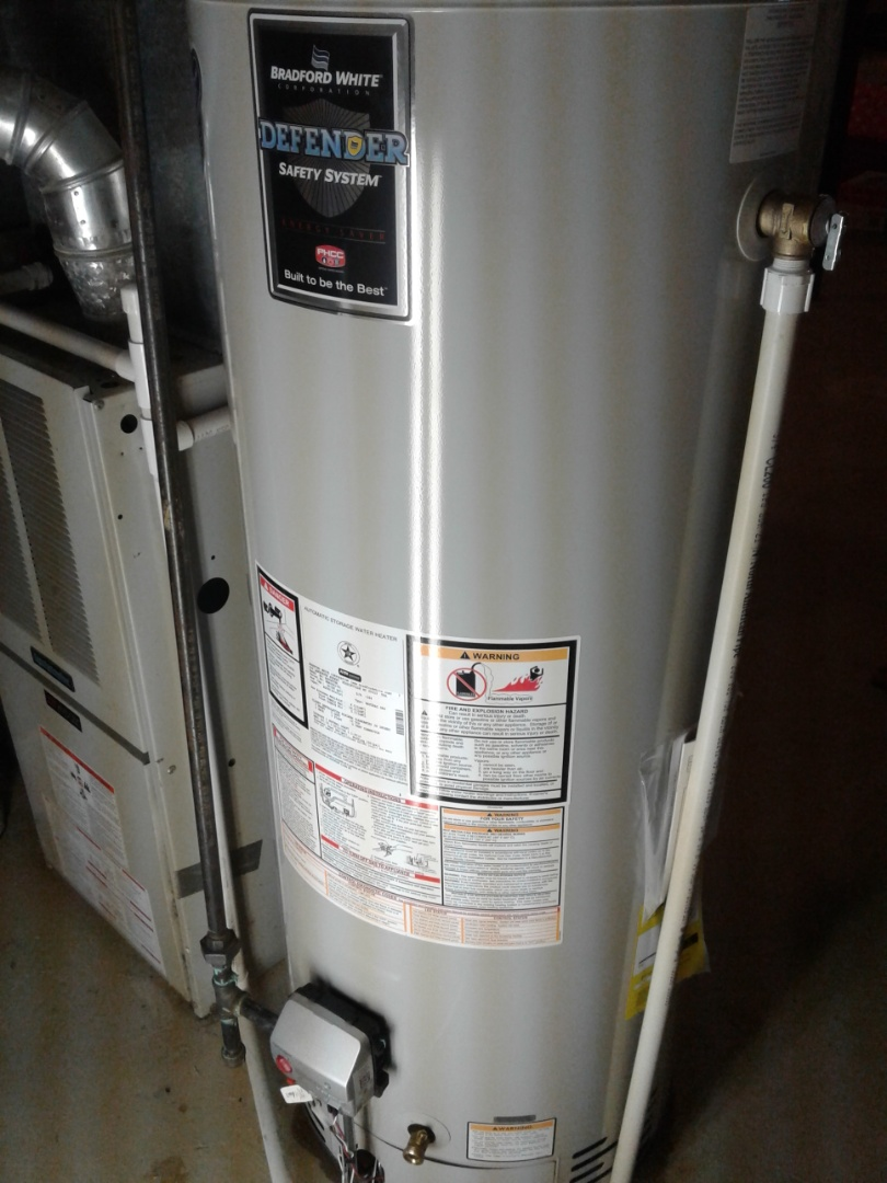 White Lake charter Township, MI - Installed a new water heater