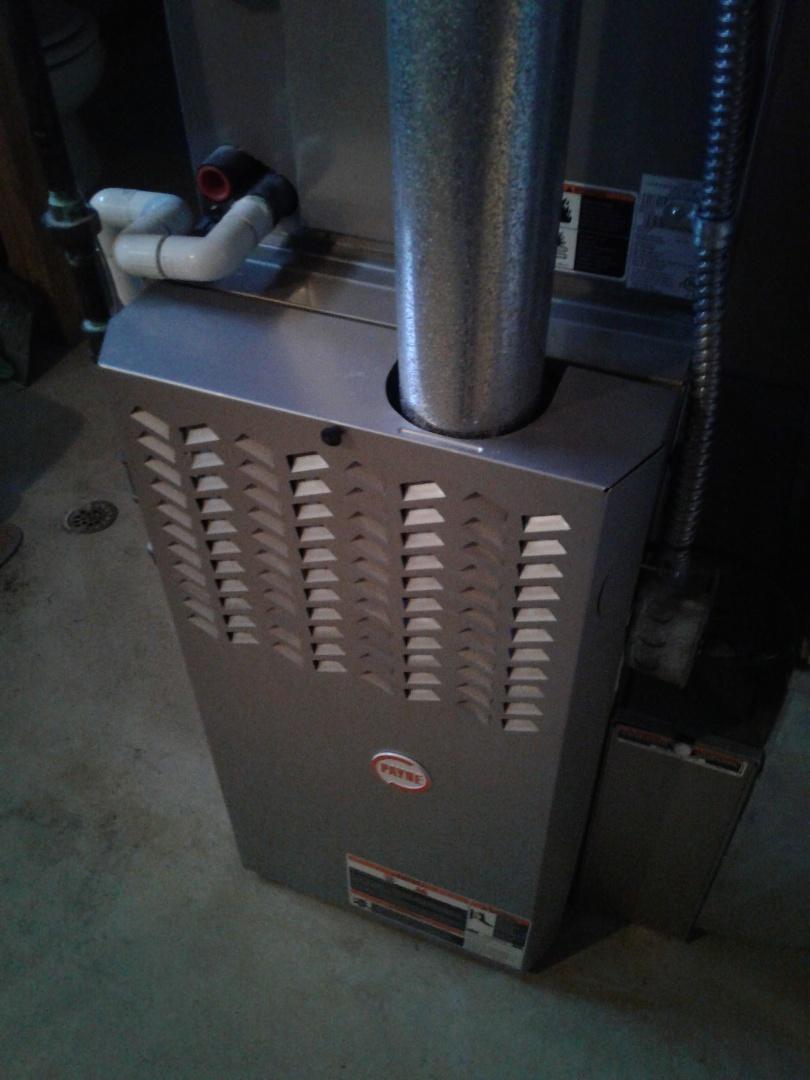 Novi, MI - Fixed a noisy inducer on a Payne 80% furnace