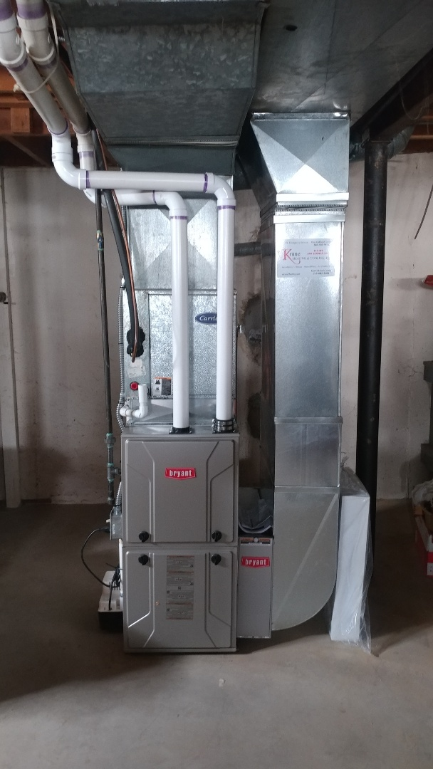 Waterford Township, MI - Installed a Bryant 90% efficient furnace