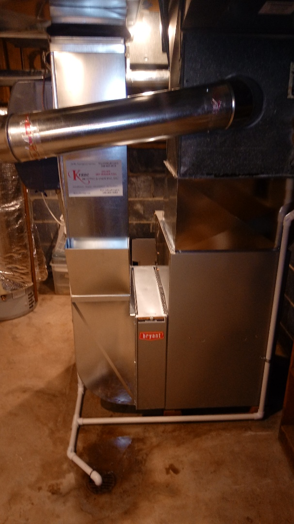 West Bloomfield Township, MI - Install a Bryant 80 plus furnace