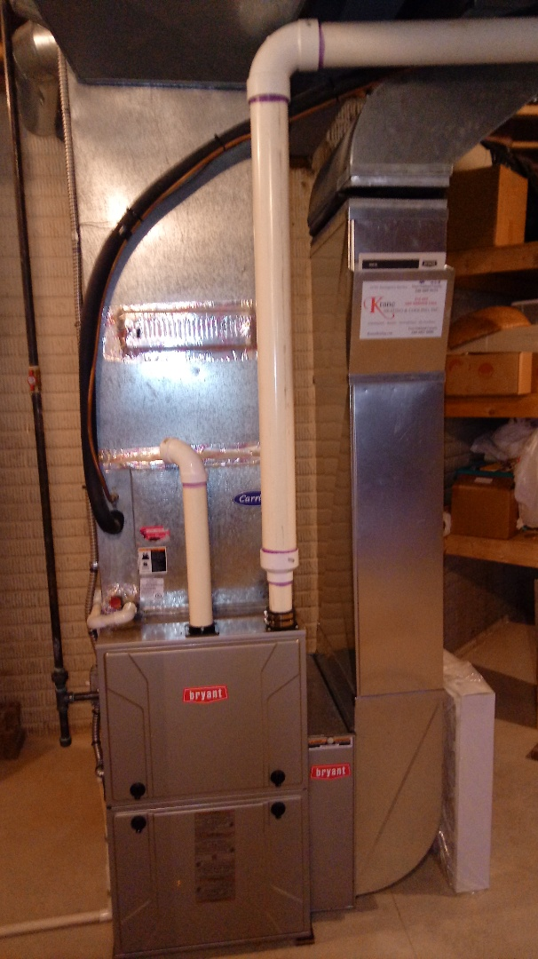 Novi, MI - Installed a Bryant 96% efficient furnace