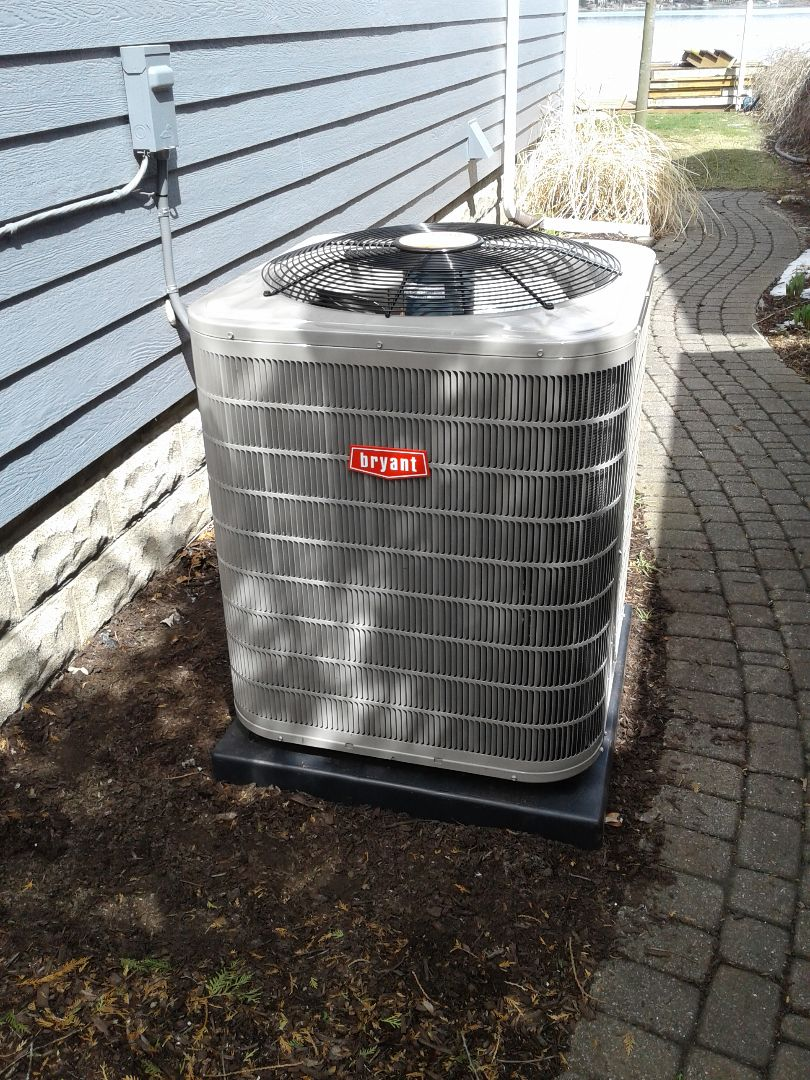 Waterford Township, MI - Just finished an A/C install