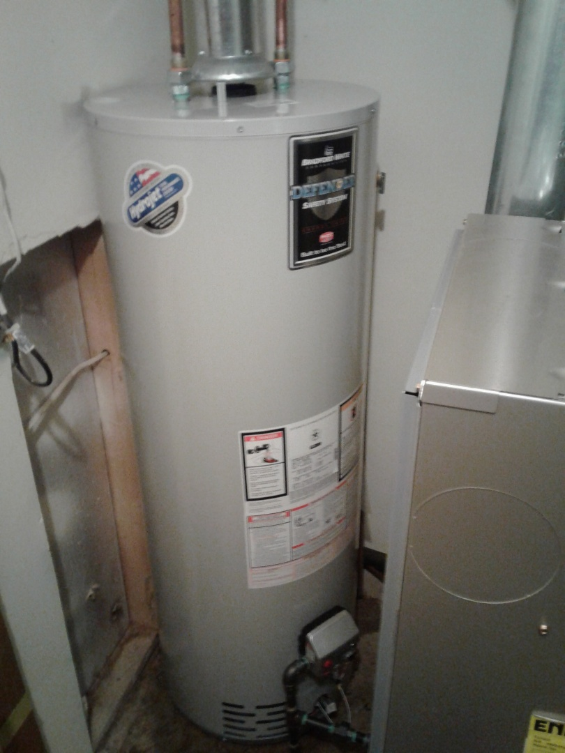 Waterford Township, MI - Replaced a water heater in a tight spot