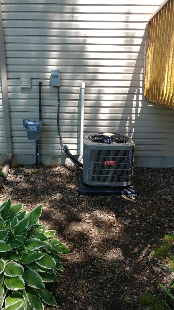 Waterford Township, MI - Installed a Bryant air conditioner
