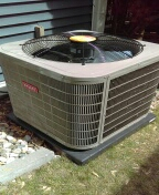 Commerce Charter Township, MI - Installed a 96% efficient Bryant furnace and a 3 & a half ton Bryant air conditioner
