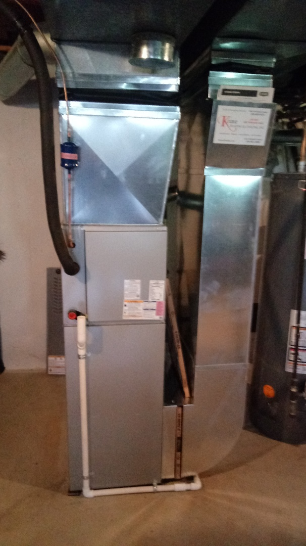 Waterford Township, MI - Installed a Bryant 80% efficient furnace