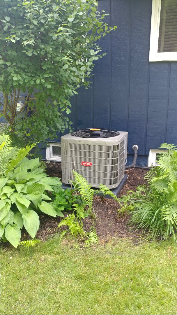 Install Bay Bryant air conditioner