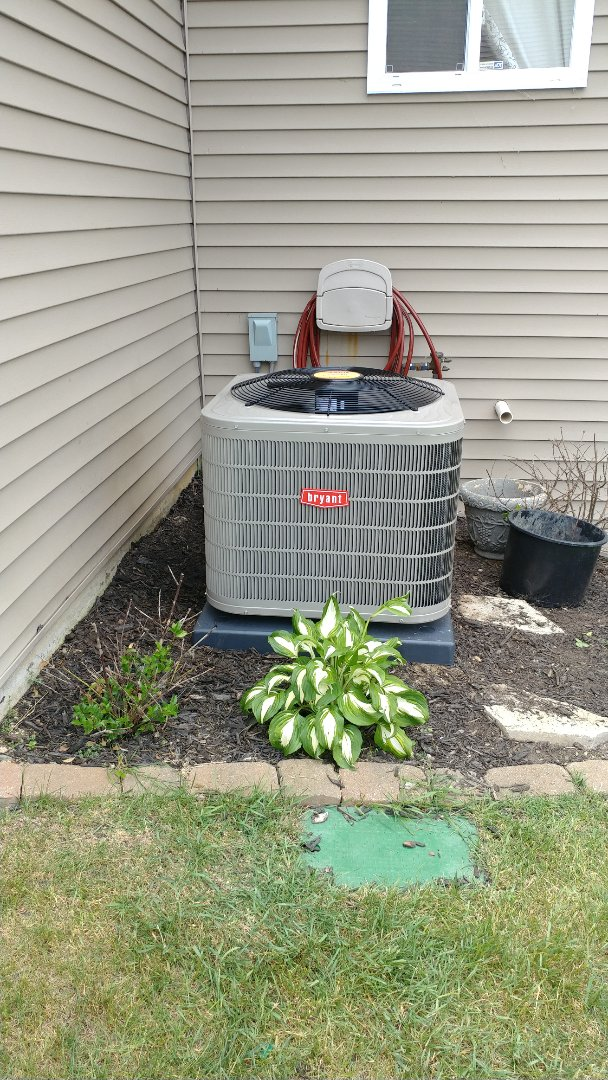 White Lake charter Township, MI - Installed a Bryant air conditioner