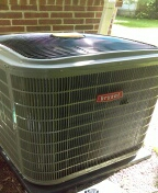 Clarkston, MI - After being installed 96% efficient Bryant furnace and a 4-ton Bryant air conditioner