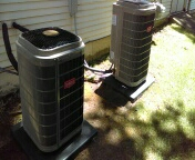 Waterford Township, MI - Installed a 2 ton and a 3 ton Bryant air conditioner