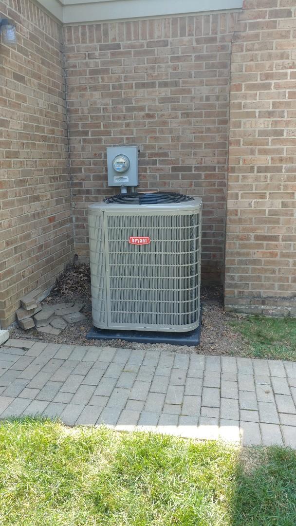 Novi, MI - Install a Bryant air conditioner